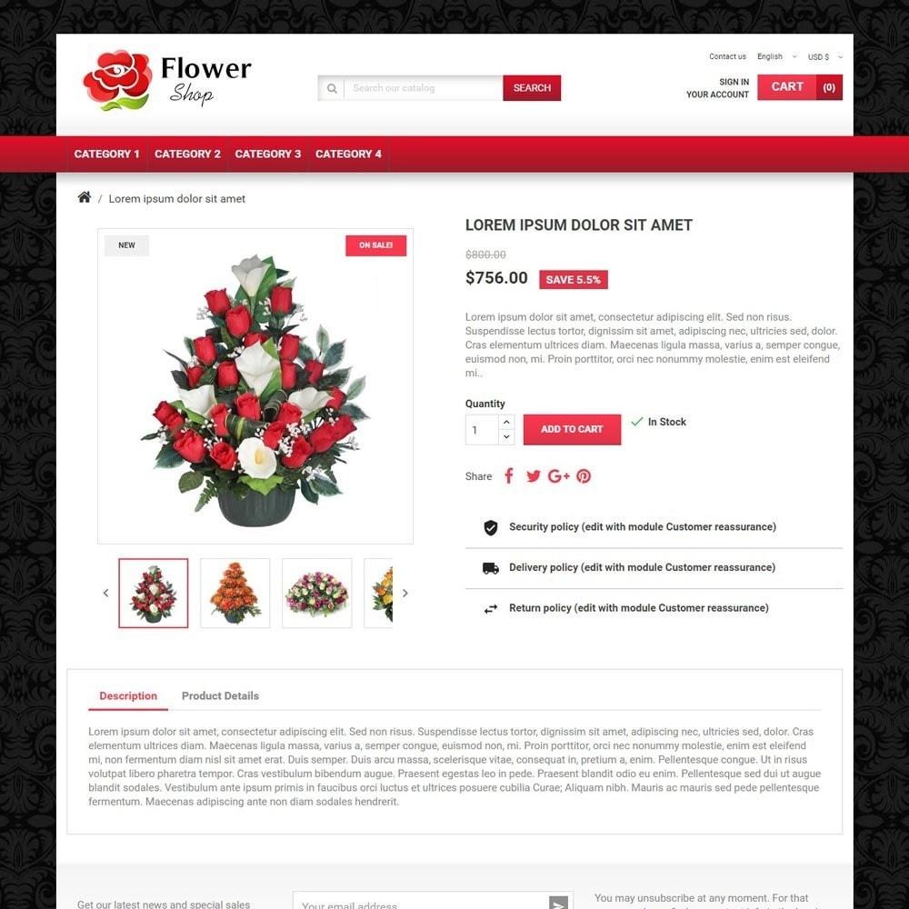 theme - Presentes, Flores & Comemorações - FlowerShop - 3
