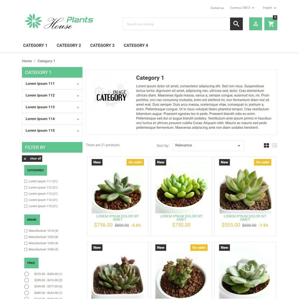 theme - Casa & Jardins - HousePlants - 2