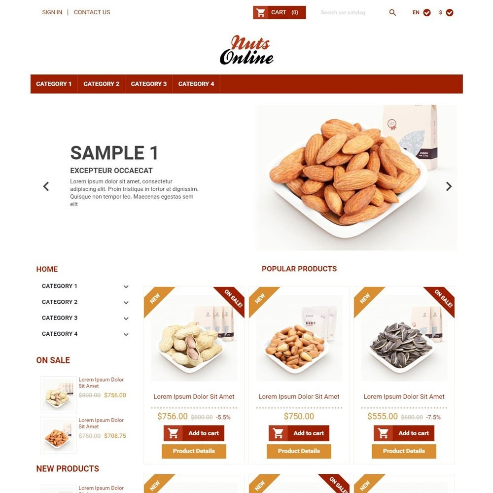 theme - Eten & Restaurant - NutsOnline - 1