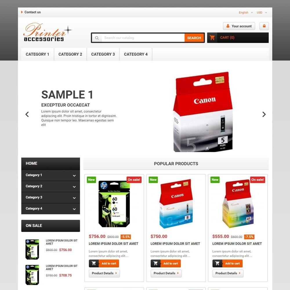 theme - Electronique & High Tech - PrinterAccessories - 1