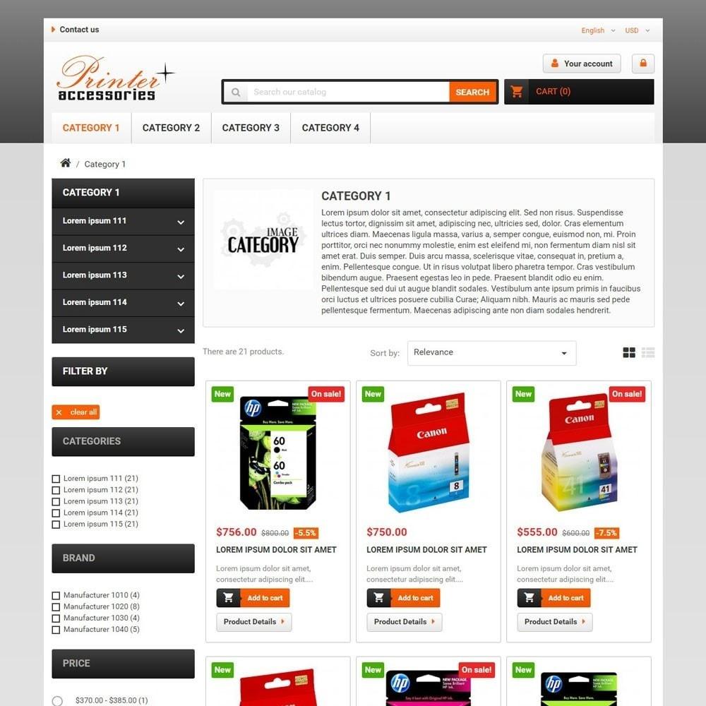 theme - Electronique & High Tech - PrinterAccessories - 2