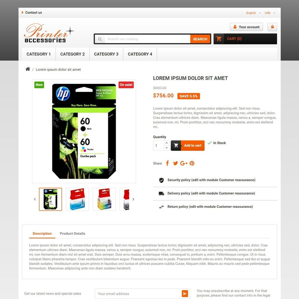 theme - Electronique & High Tech - PrinterAccessories - 3