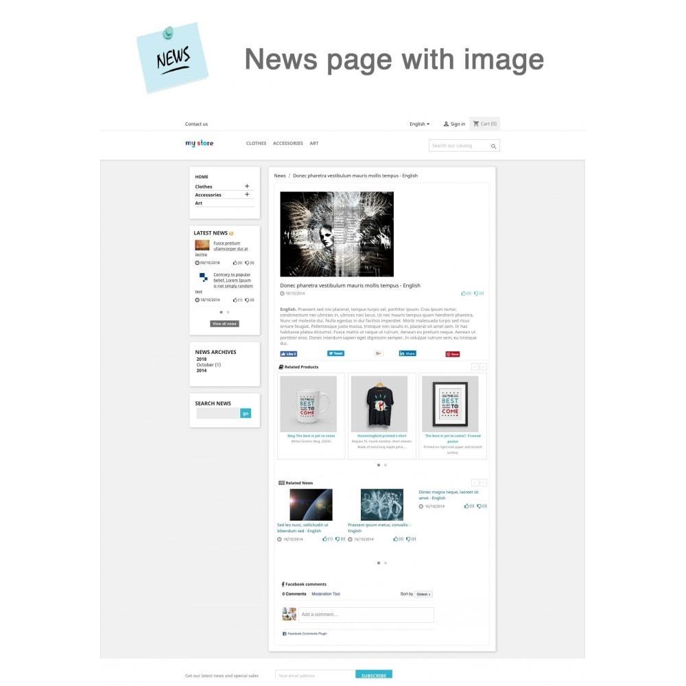 module - Blog, Forum & News - News Advanced + Google Rich Snippets - 2