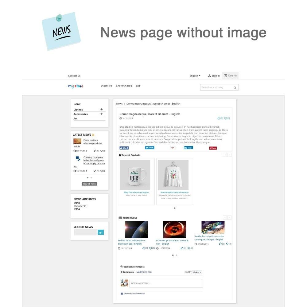 module - Blog, Forum & News - News Advanced + Google Rich Snippets - 4
