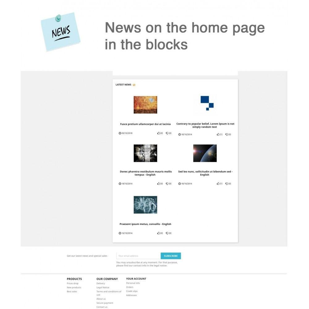 module - Blog, Forum & News - News Advanced + Google Rich Snippets - 7