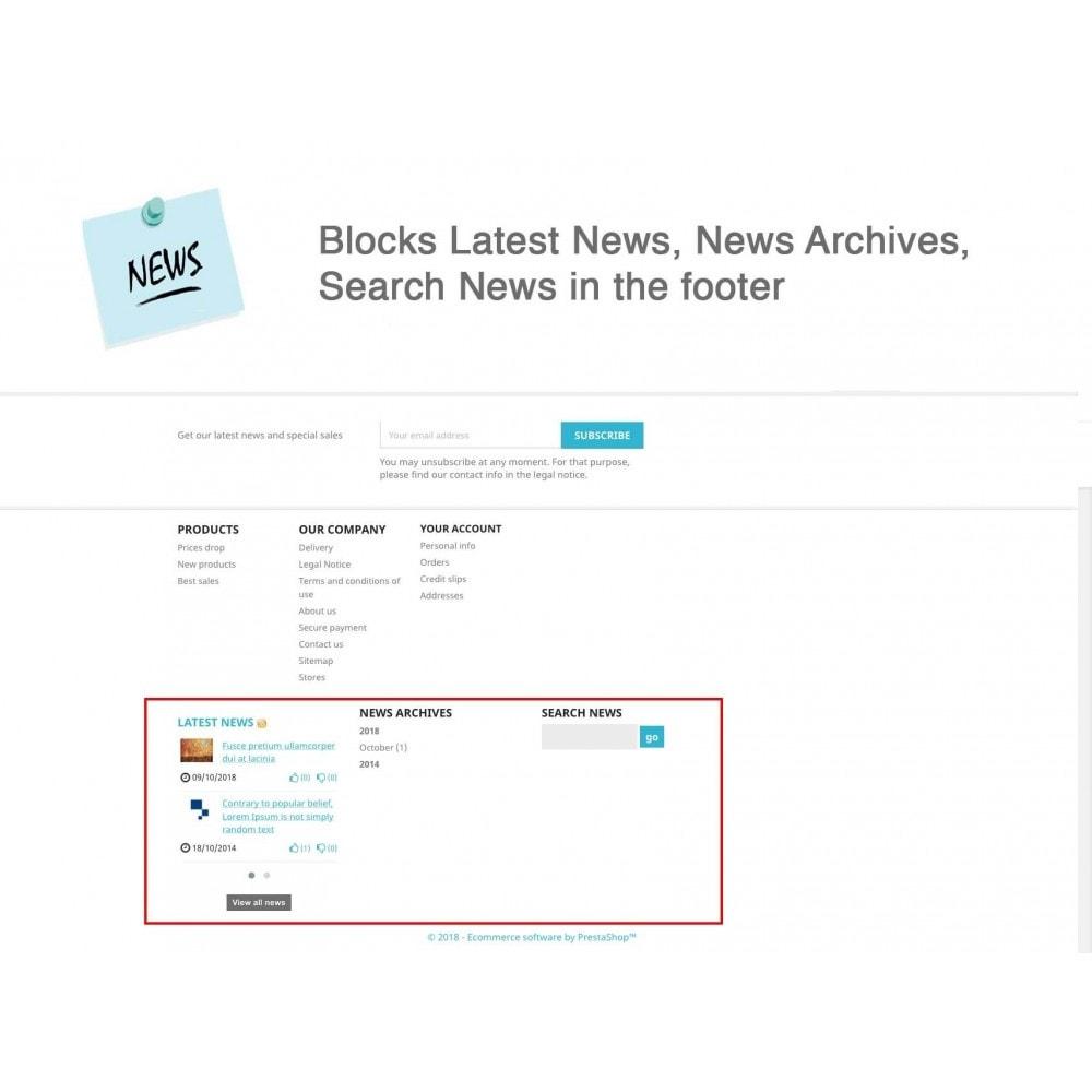module - Blog, Forum & News - News Advanced + Google Rich Snippets - 8