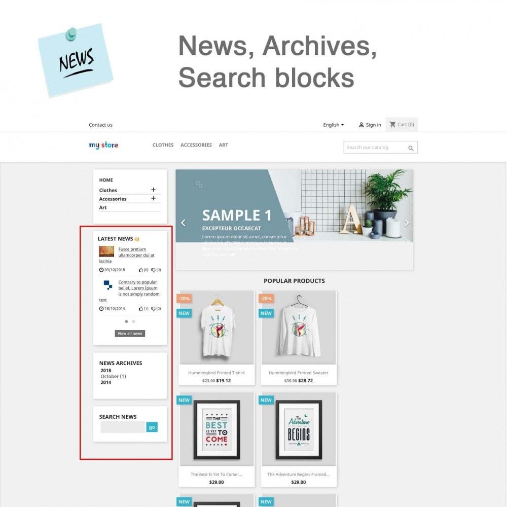 module - Blog, Forum & News - News Advanced + Google Rich Snippets - 9