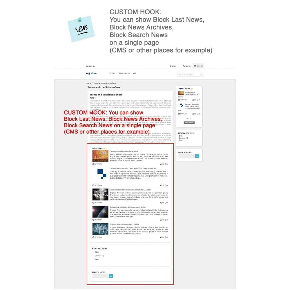 module - Blog, Forum & News - News Advanced + Google Rich Snippets - 10
