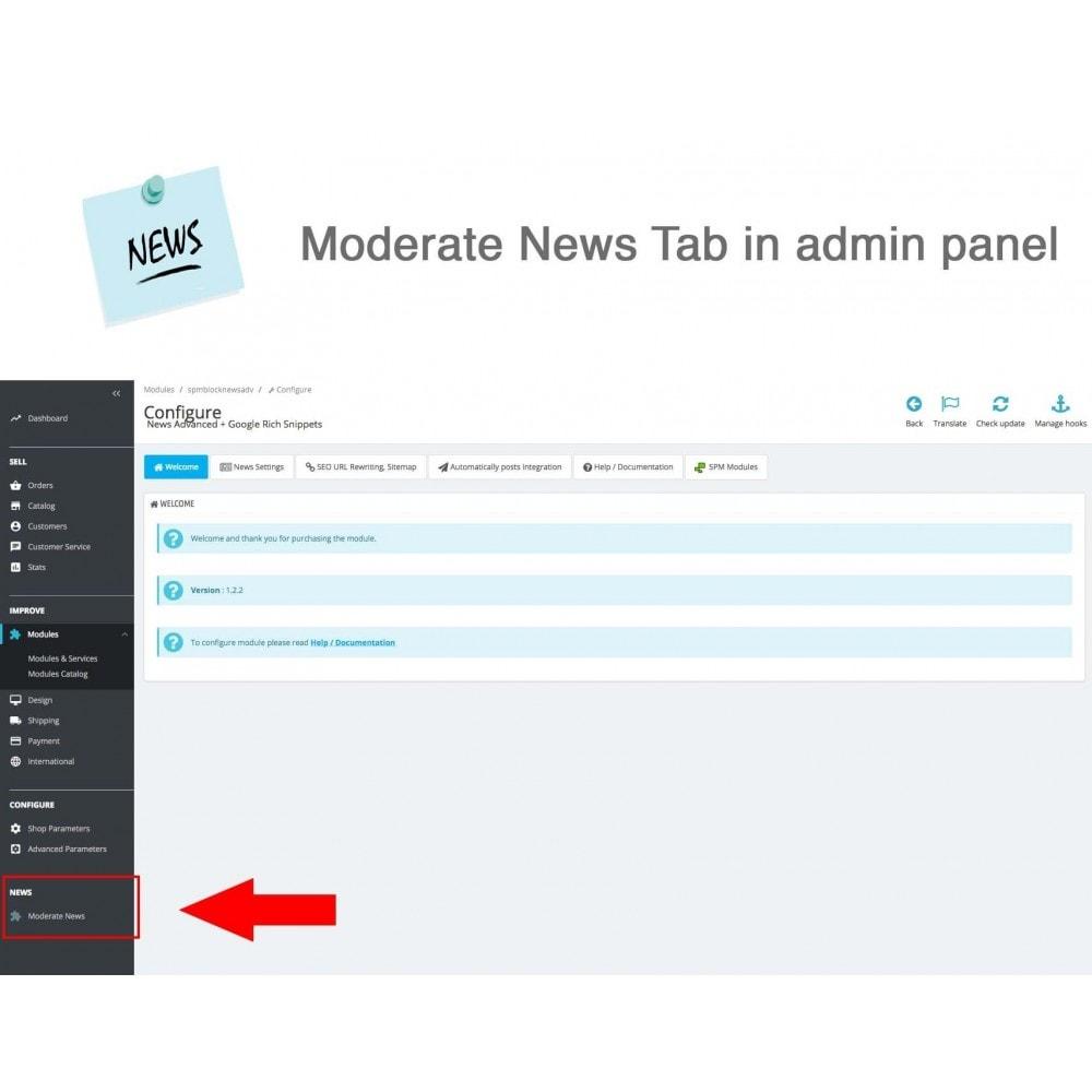 module - Blog, Forum & News - News Advanced + Google Rich Snippets - 17