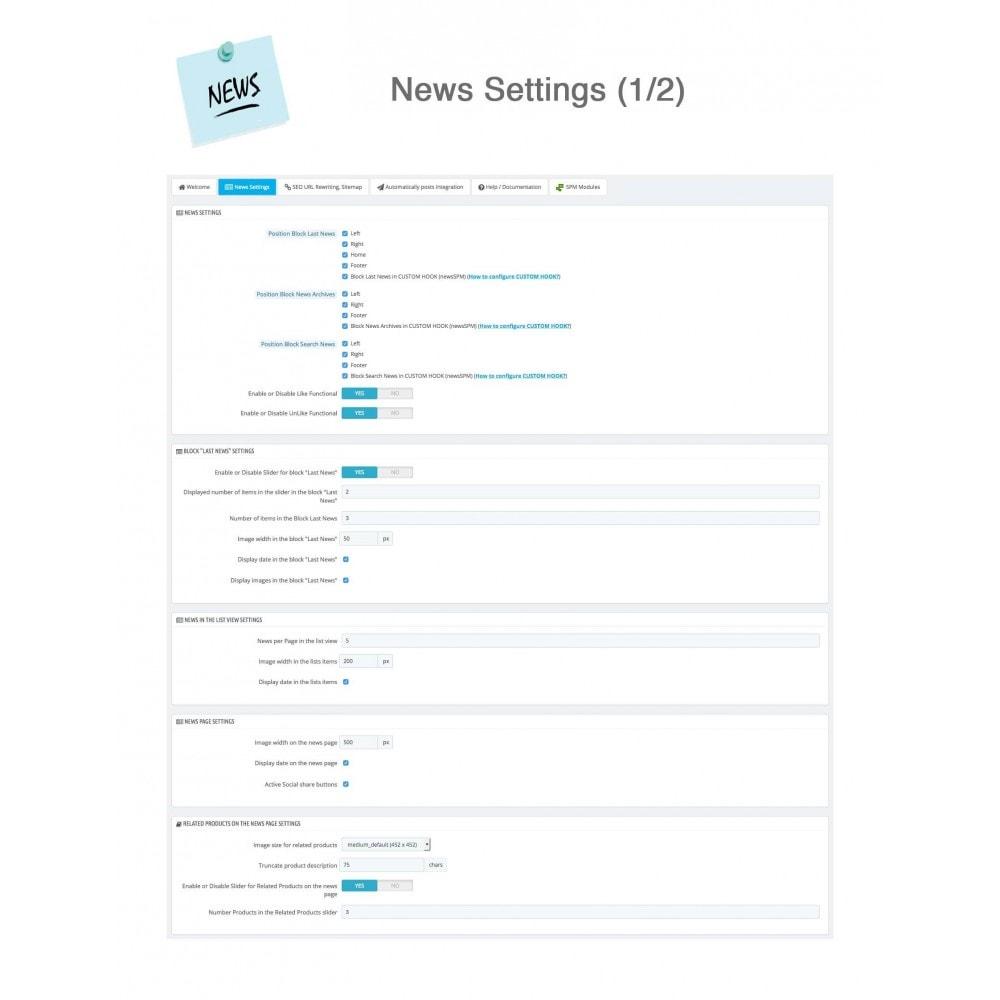 module - Blog, Forum & News - News Advanced + Google Rich Snippets - 21