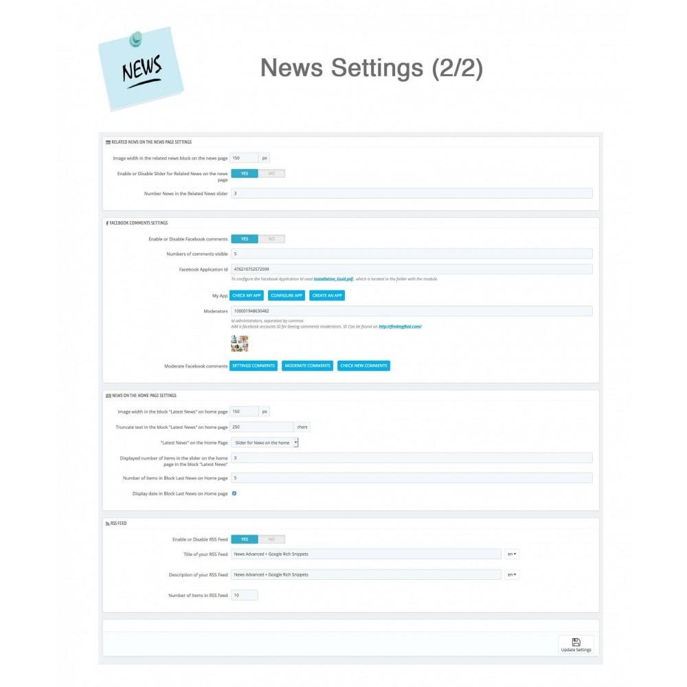 module - Blog, Forum & News - News Advanced + Google Rich Snippets - 22