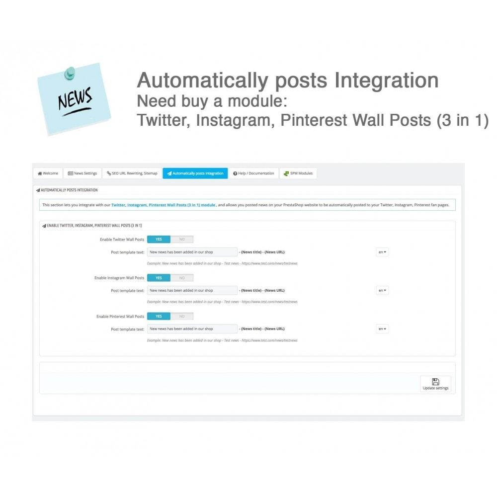 module - Blog, Forum & News - News Advanced + Google Rich Snippets - 24