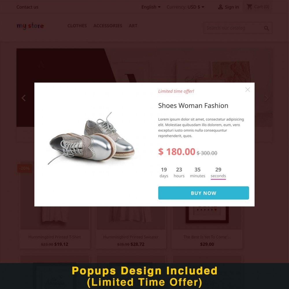 module - Promozioni & Regali - Smart Popup (Newsletter Popup) - 17