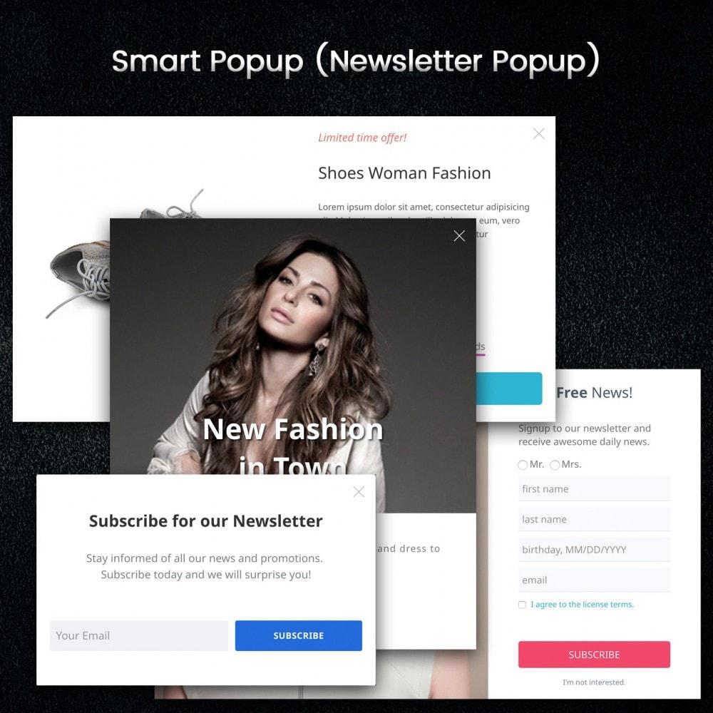 module - Promotions & Cadeaux - Popup Intelligent (Bulletin Popup) - 2