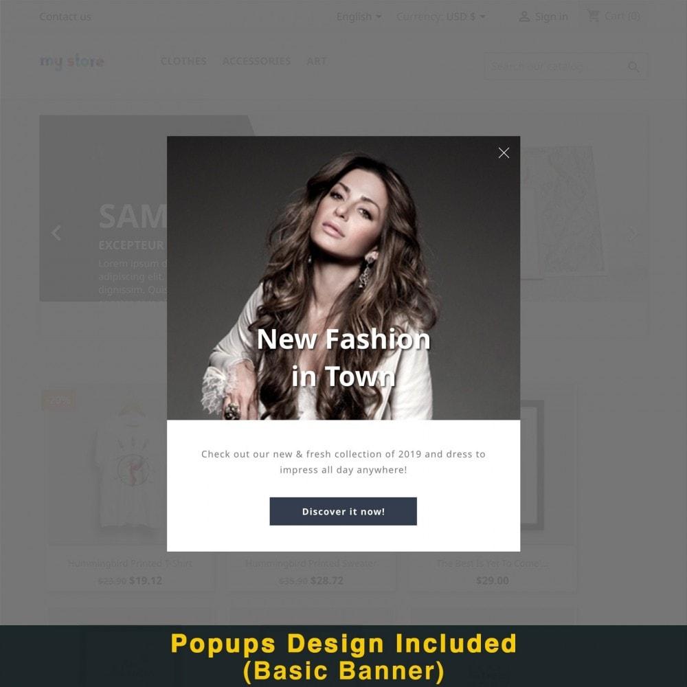 module - Promotions & Cadeaux - Popup Intelligent (Bulletin Popup) - 19
