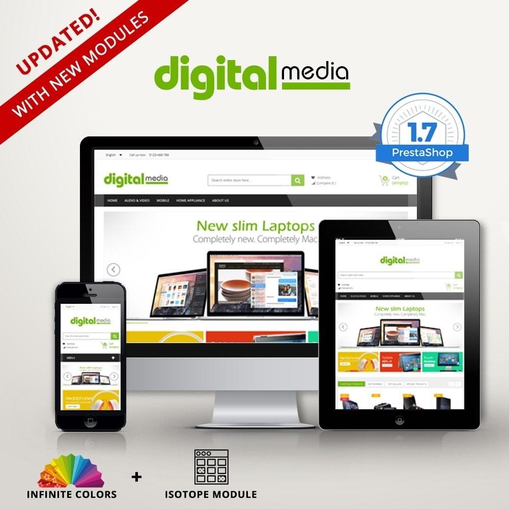 theme - Electrónica e High Tech - Digitalmedia Multi-purpose HTML5 - 1
