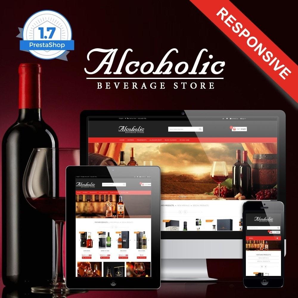 theme - Napoje & Wyroby tytoniowe - Alcoholic & Wine Shop HTML5 - 1