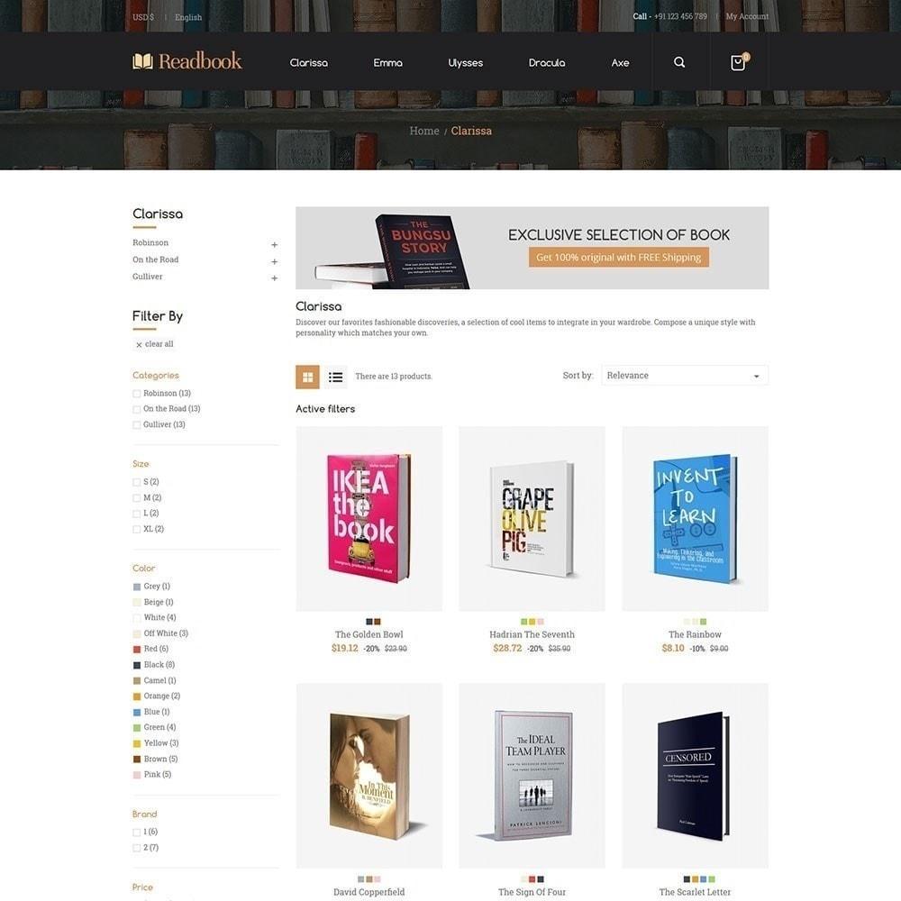 theme - Arte y Cultura - Libro de lectura - Librería - 3