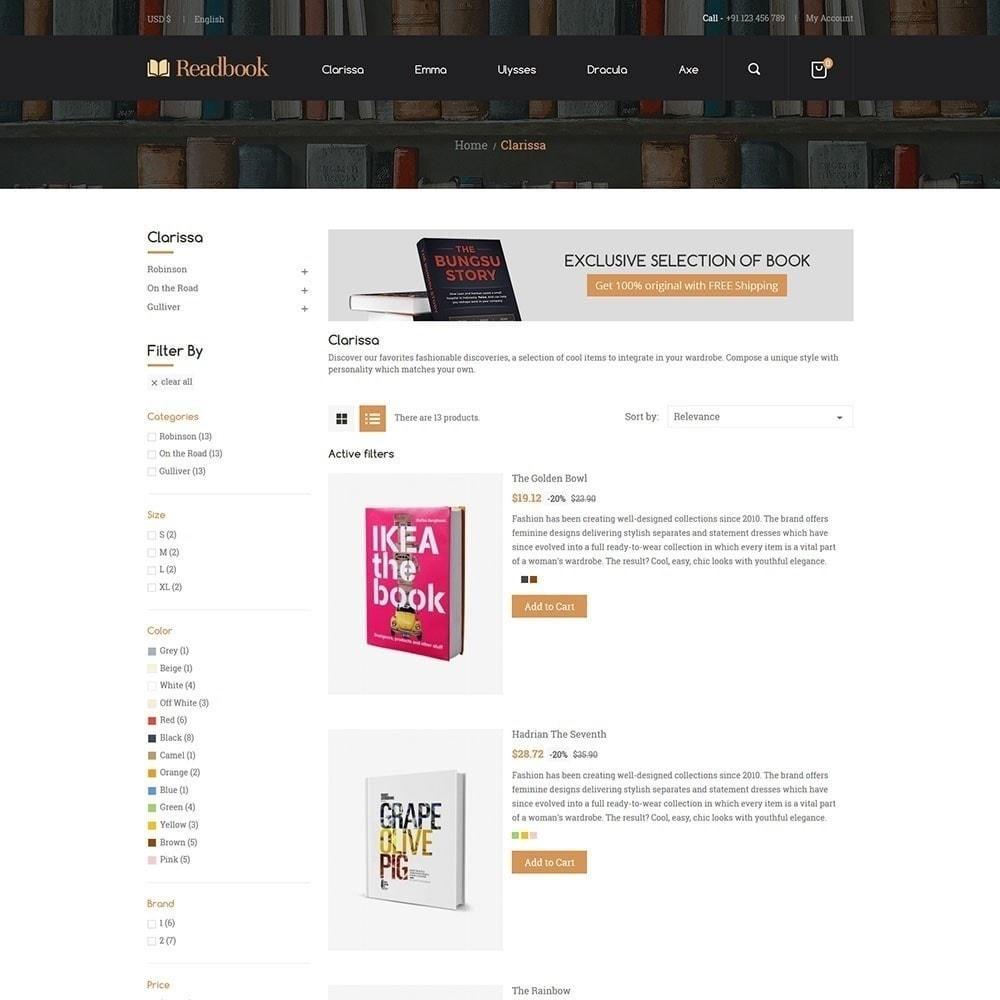theme - Arte y Cultura - Libro de lectura - Librería - 5