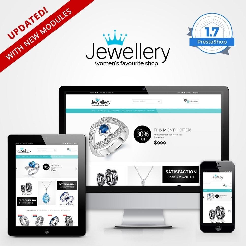 theme - Ювелирные изделия и Аксессуары - Jewellery Multipurpose HTML5 - 1