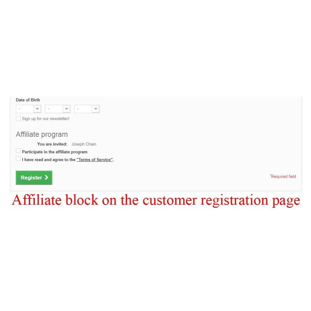 module - Indicizzazione a pagamento (SEA SEM) & Affiliazione - Extended Affiliate Program RefPRO - 30