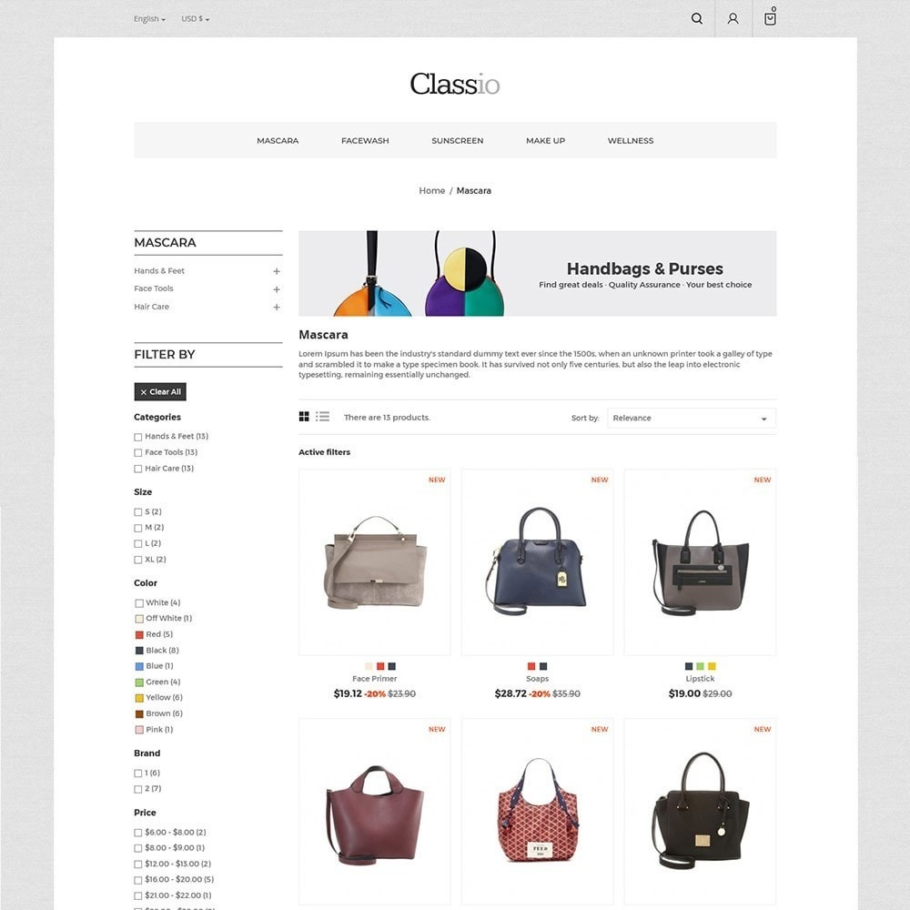 theme - Moda & Calzature - Classio Bag - Fashion Store - 4