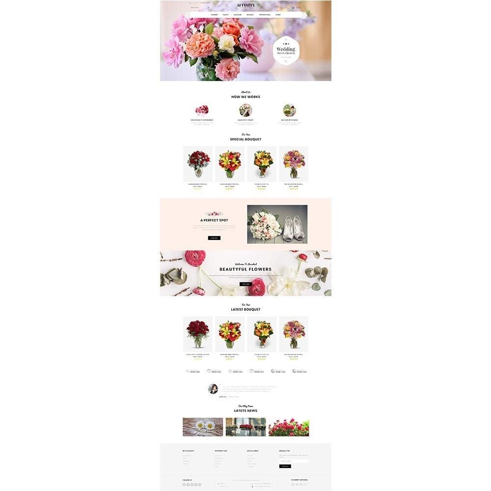 theme - Cadeaux, Fleurs et Fêtes - Affinity Flower Store - 2