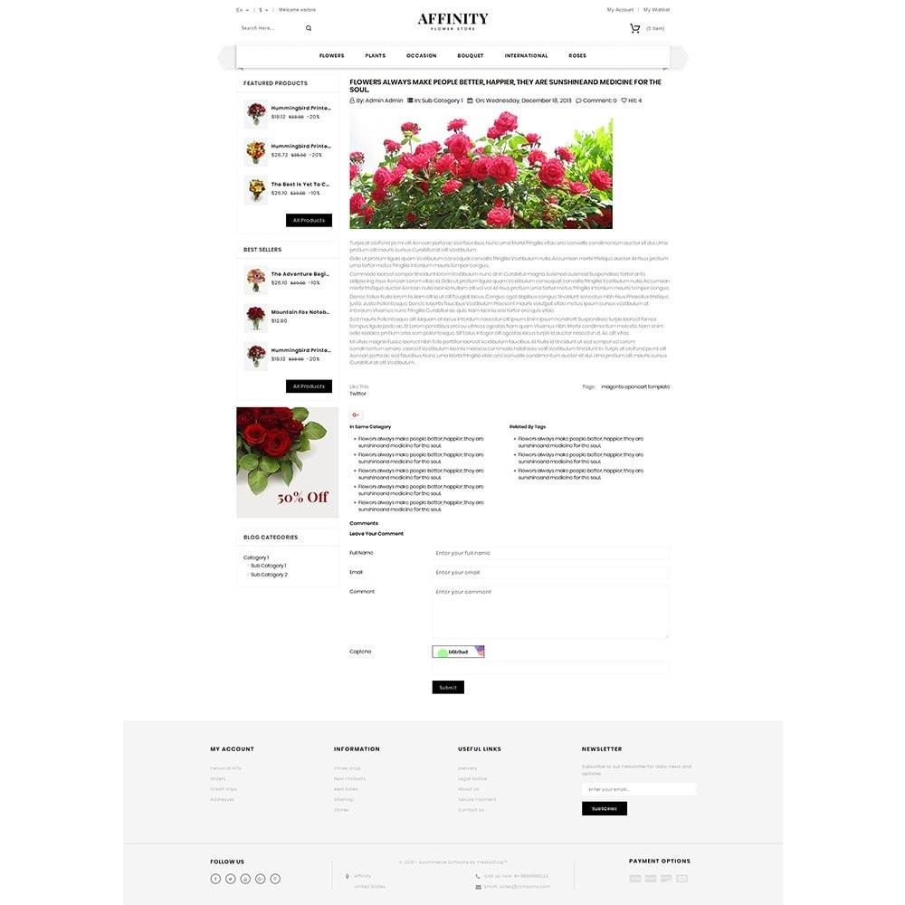 theme - Cadeaux, Fleurs et Fêtes - Affinity Flower Store - 6
