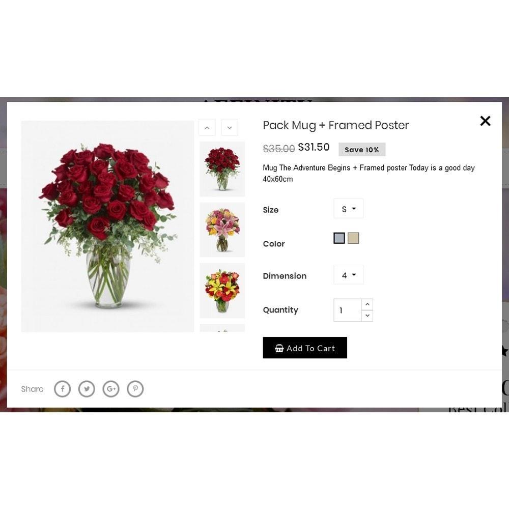 theme - Cadeaux, Fleurs et Fêtes - Affinity Flower Store - 7