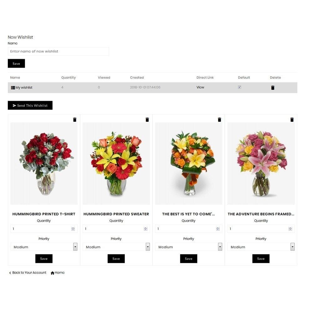 theme - Cadeaux, Fleurs et Fêtes - Affinity Flower Store - 10