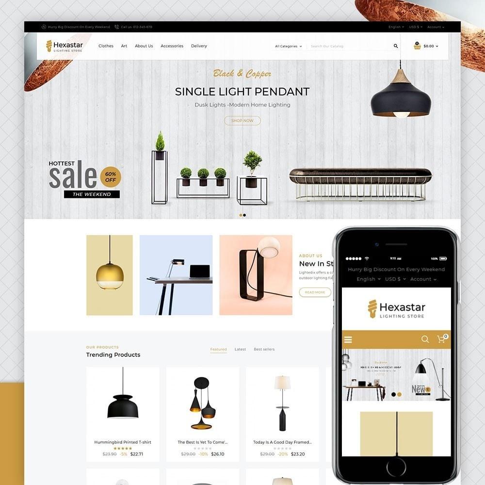 theme - Kultura & Sztuka - Hexastar Lighting Store - 1