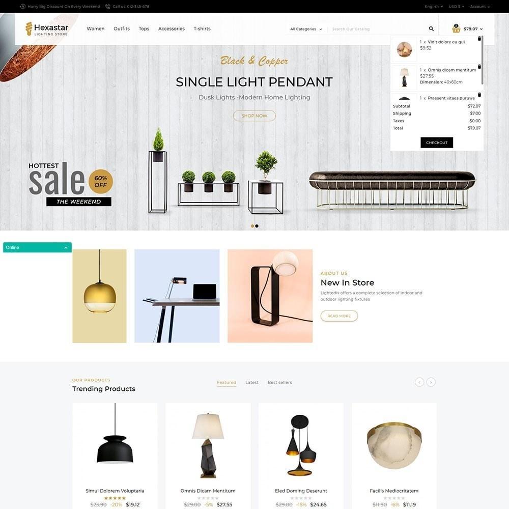 theme - Kultura & Sztuka - Hexastar Lighting Store - 2