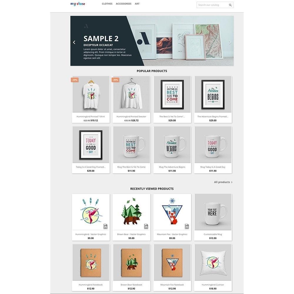 module - Informaciones adicionales y Pestañas - Recently Viewed Products - 2