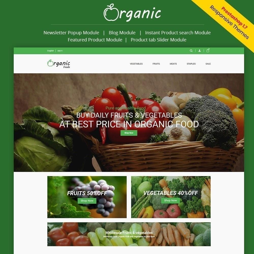 theme - Alimentation & Restauration - Magasin d'aliments biologiques - 2