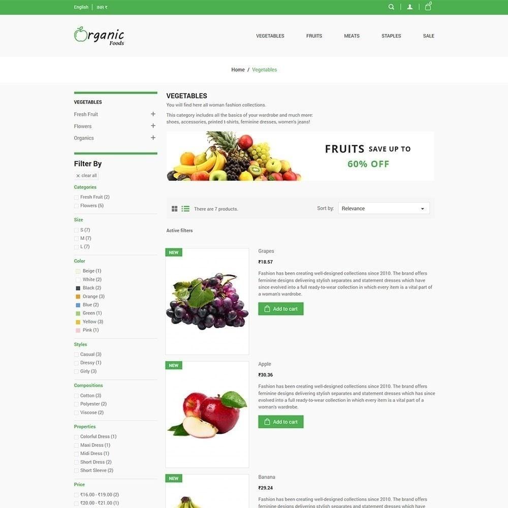 theme - Cibo & Ristorazione - Negozio di alimenti biologici - 5