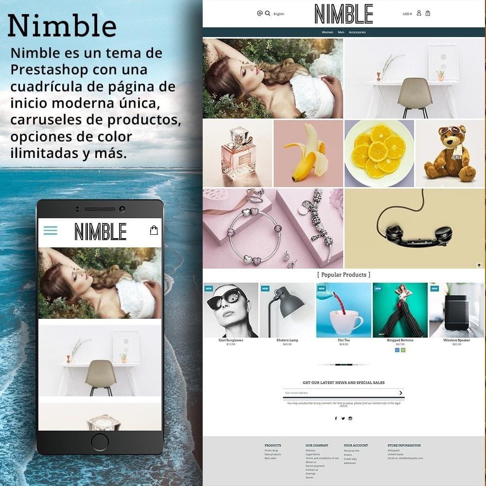 theme - Moda y Calzado - Nimble Cuadrícula - 2