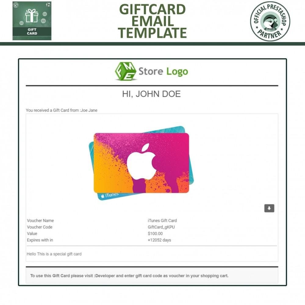module - Lista de desejos & Vale-presente - Gift Card Module - Gift Card Certificates & Vouchers - 10
