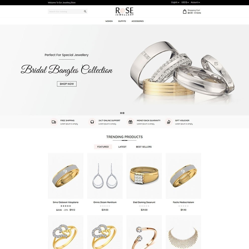 theme - Joyas y Accesorios - Rose Jewellery - 2