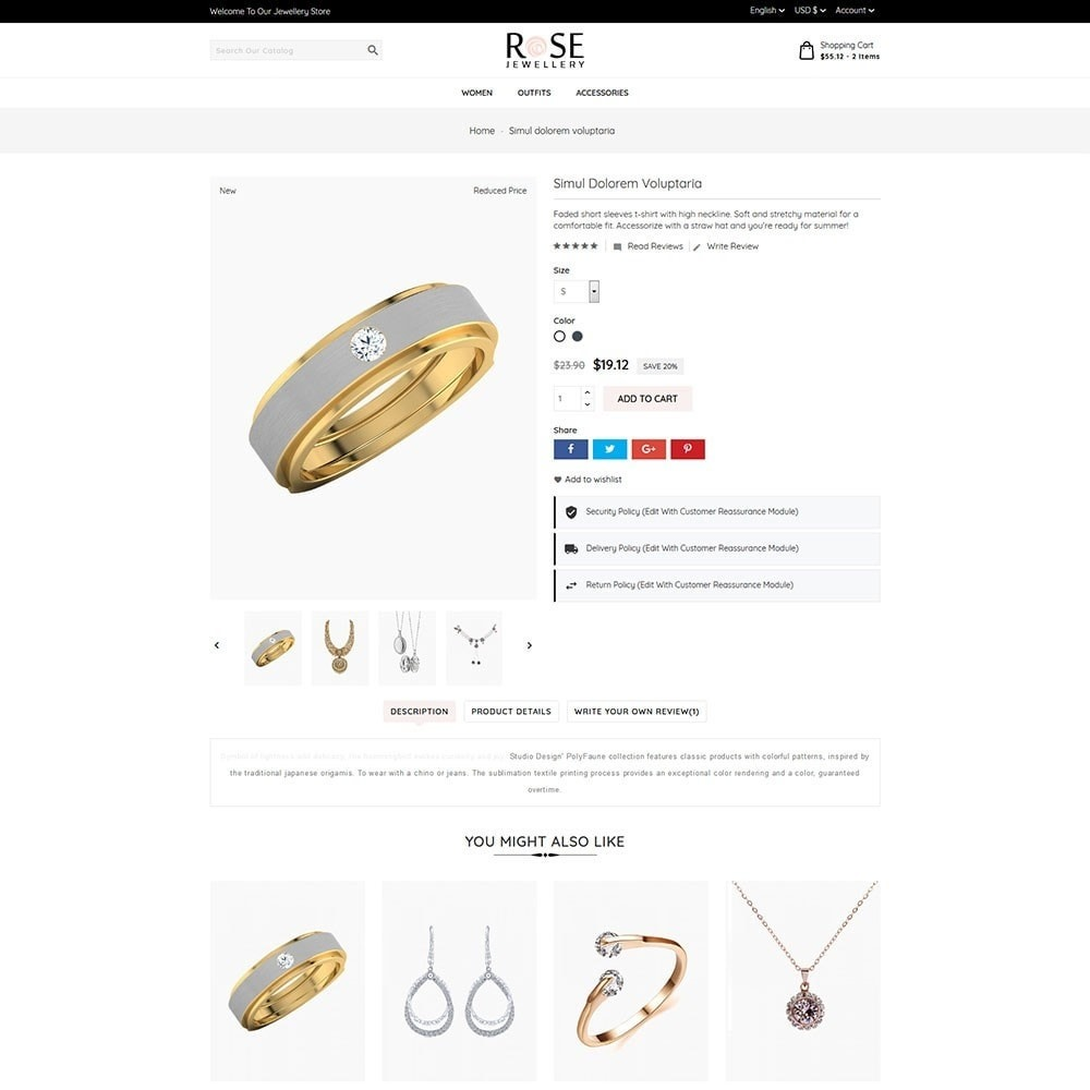 theme - Joyas y Accesorios - Rose Jewellery - 4