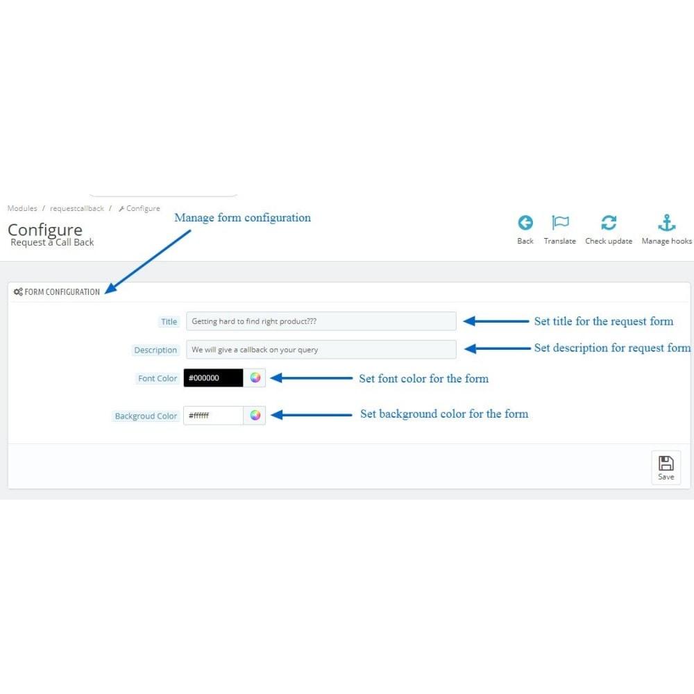 module - Wsparcie & Czat online - Call Back Request - 3