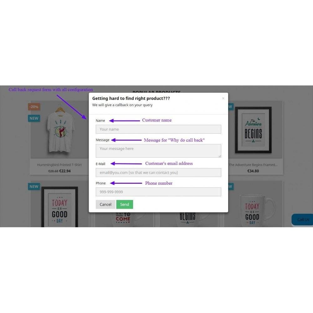 module - Wsparcie & Czat online - Call Back Request - 9