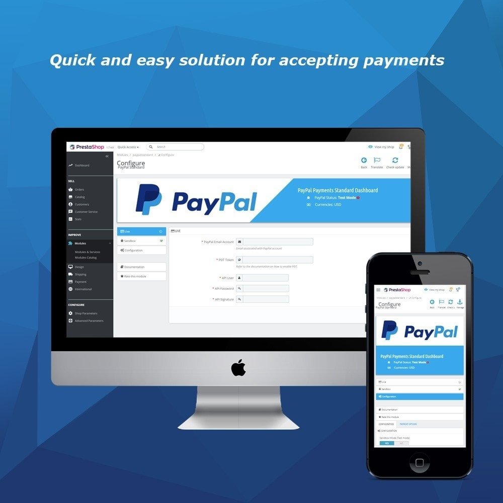 module - Payment by Card or Wallet - PayPal Standard - 1