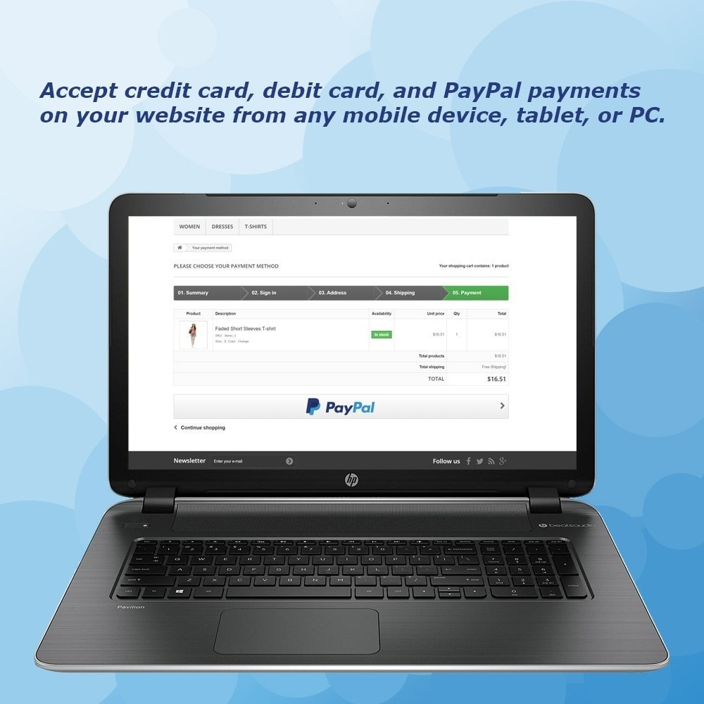 module - Payment by Card or Wallet - PayPal Standard - 2