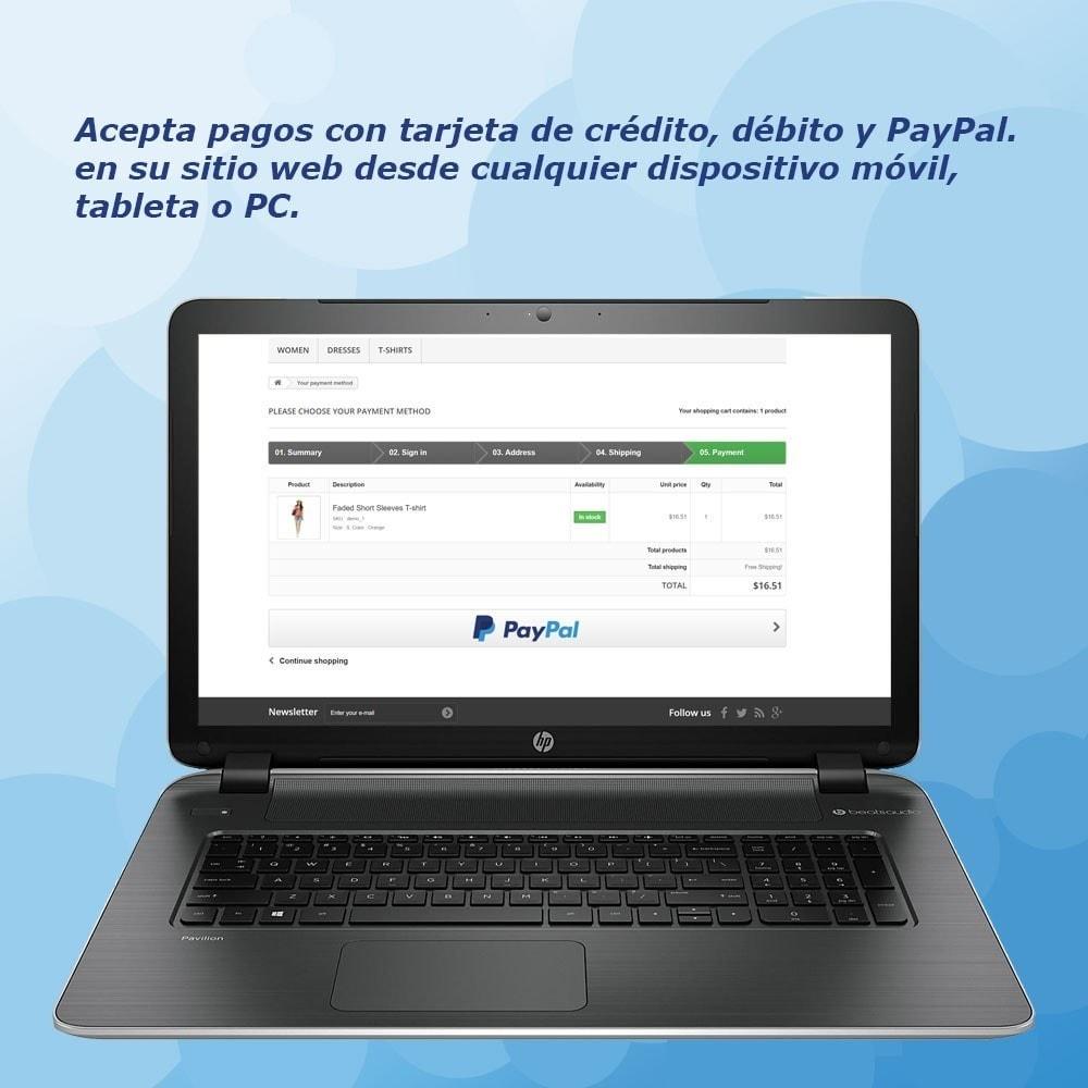 module - Pago con Tarjeta o Carteras digitales - PayPal Standard - 2