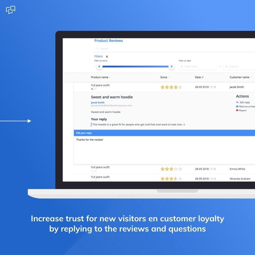 module - Klantbeoordelingen - Feedback Company - Product reviews - 4