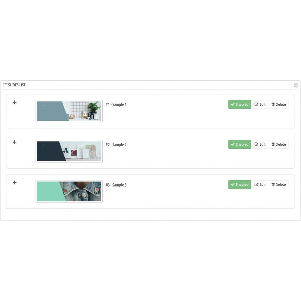 module - Slider & Gallerie - Image slider - 2