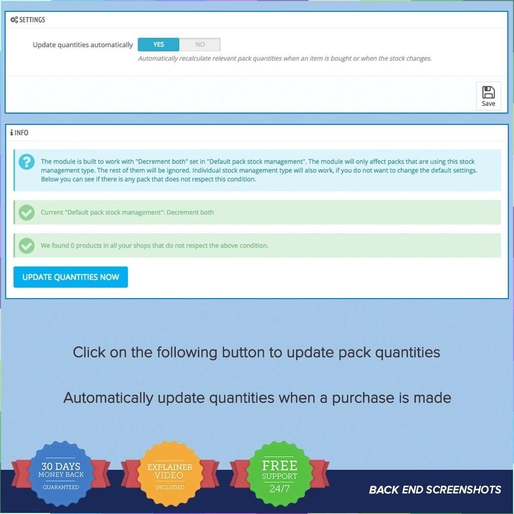 module - Vendas cruzadas & Pacotes de produtos - Bundle Stocks / Product Packs Automatic Update - 6