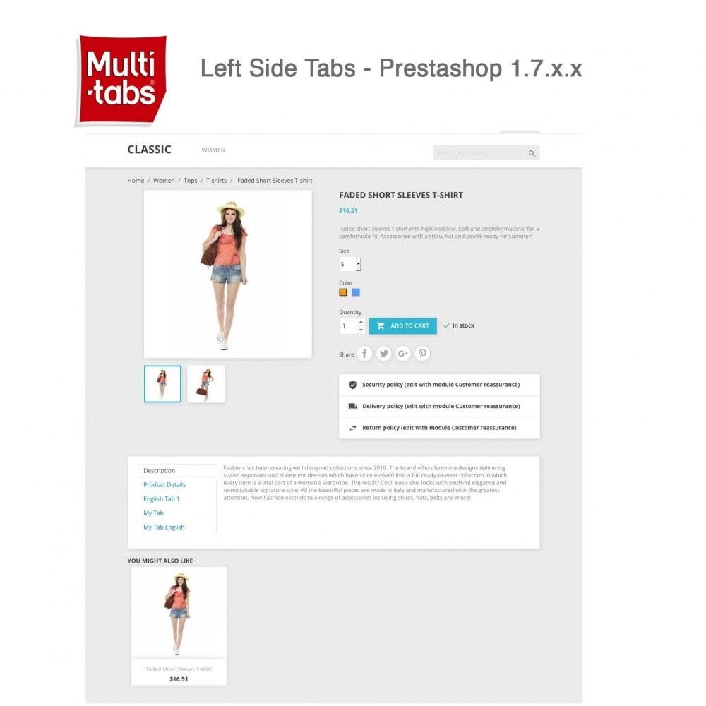module - International & Localization - Product Tabs (Multi-Language, Responsive, 12 styles) - 13