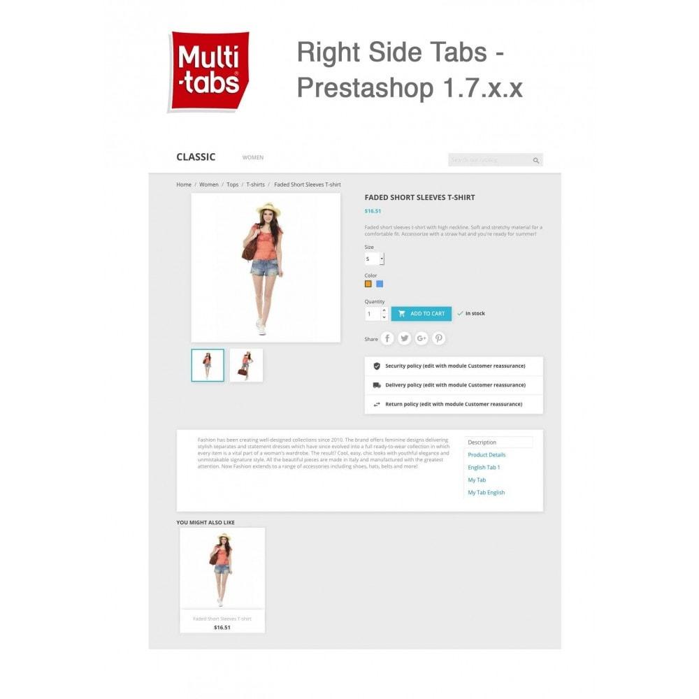 module - International & Localization - Product Tabs (Multi-Language, Responsive, 12 styles) - 15