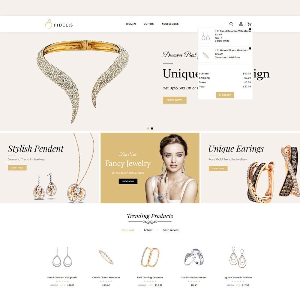 theme - Schmuck & Accesoires - Fidelis Jewellery Store - 3
